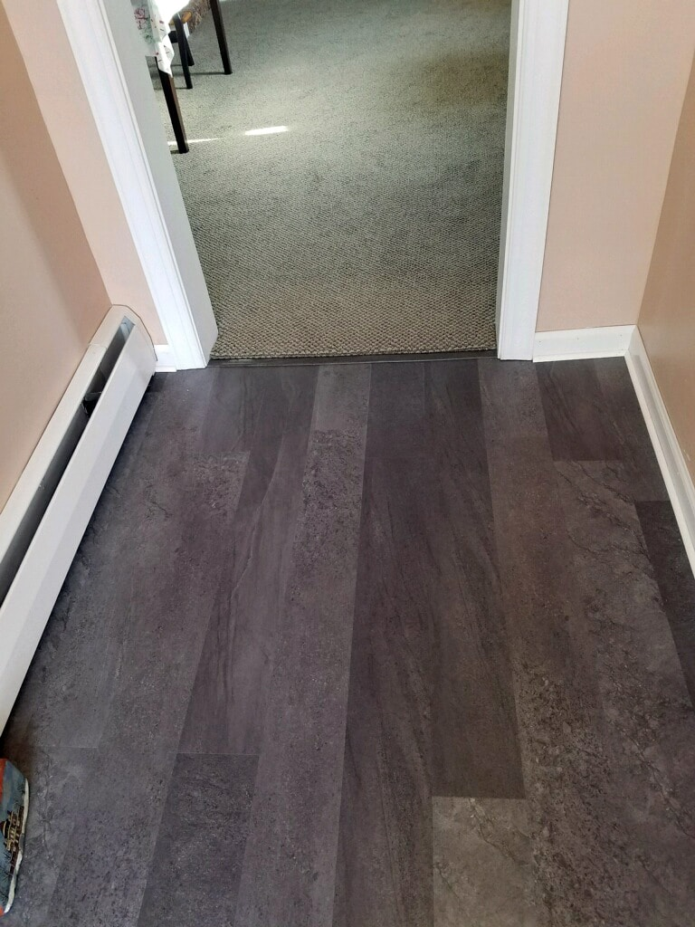 Mannington Adura Max installation by Greentown Flooring