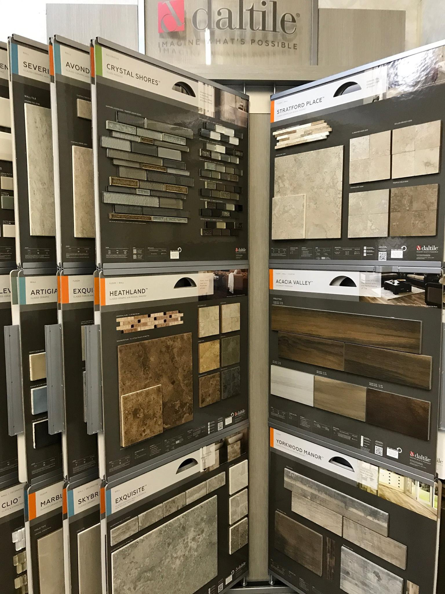 Daltile tile and stone available at Greentown Flooring
