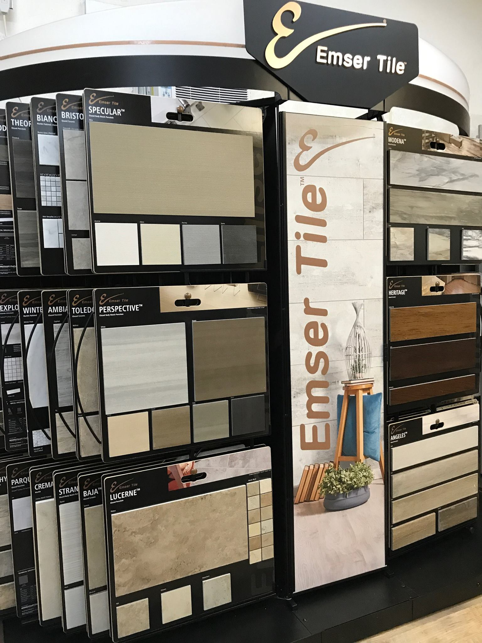 Emser Tile selections available at Greentown Flooring
