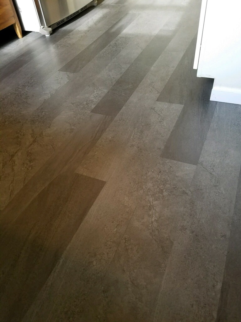 LVT Mannington Adura Max installation by Greentown Flooring