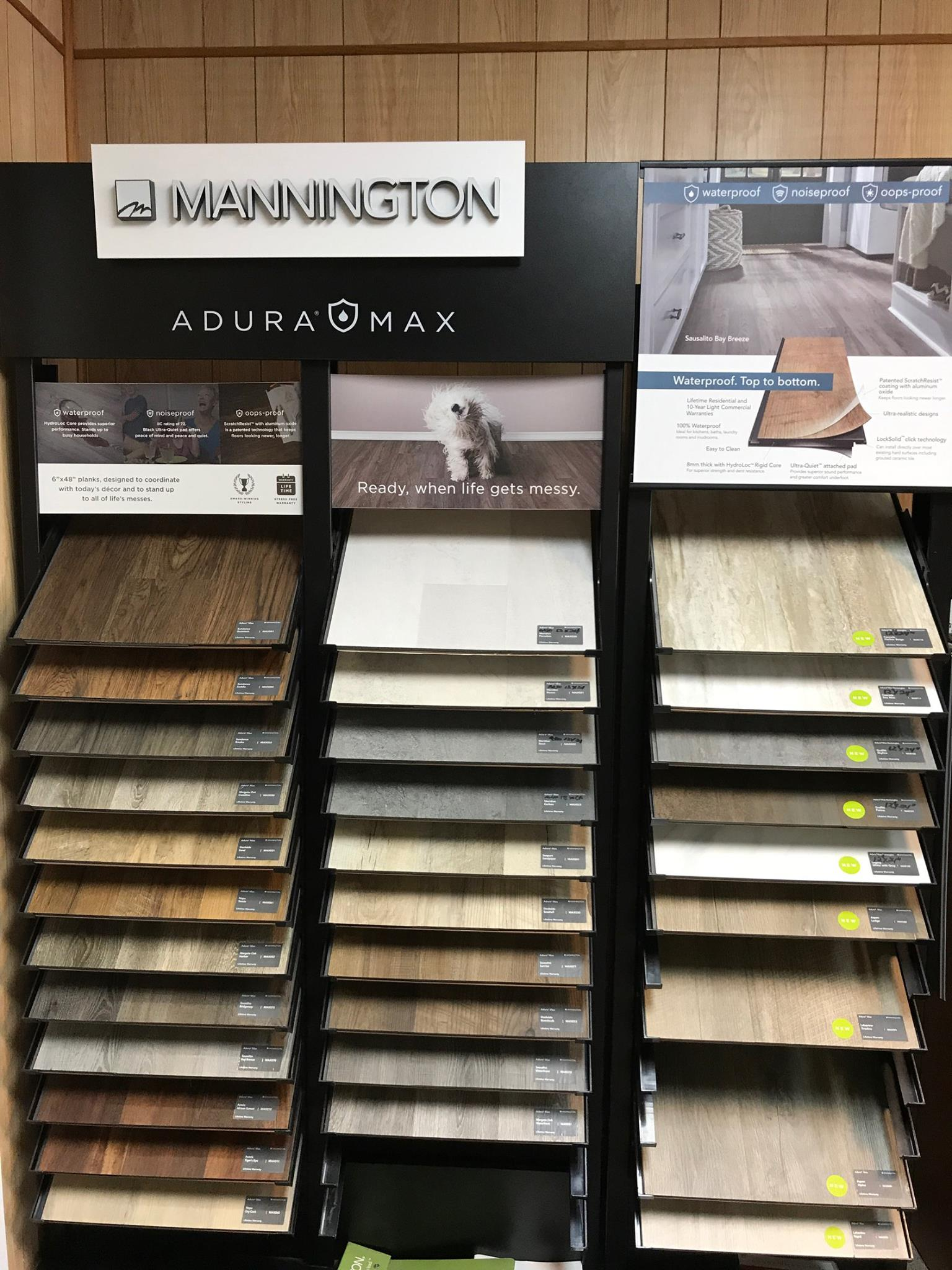 Mannington AduraMax available at Greentown Flooring