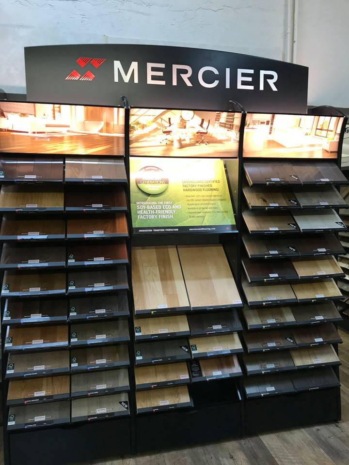Mercier flooring available at Greentown Flooring