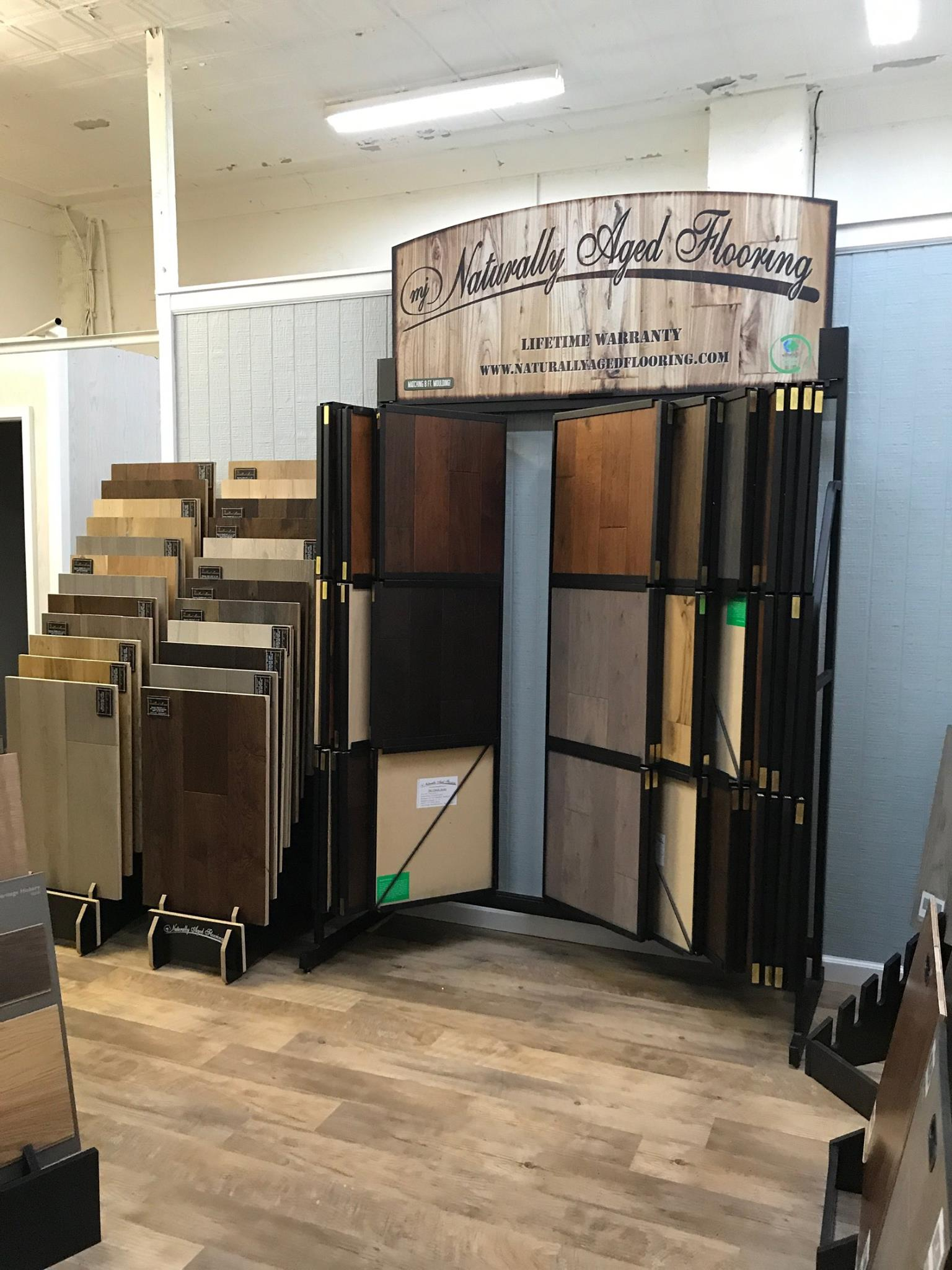 Naturally Aged Flooring available at Greentown Flooring